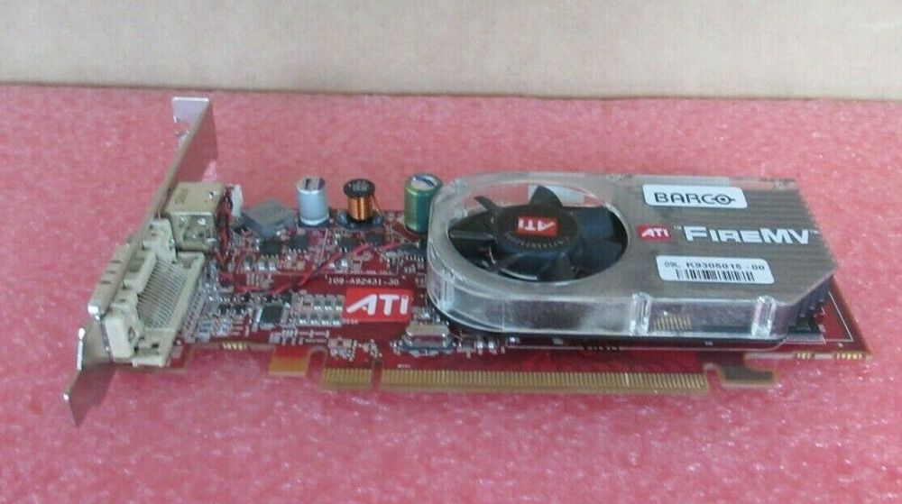 ATI Barco MXRT 2150 PCIE 256MB DDR 1920 x 1200 Display Memory Graphics Card
